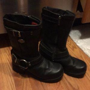 Womens Harley Davidson Boots Size 7.5M